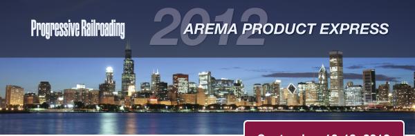 2012 AREMA Product Express