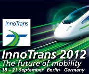 InnoTrans 2012. The future of mobility. 18-21 September, Berlin, Germany, click here.