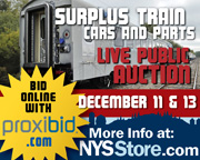 Surplus Train Cars and Parts. More info at: NYSStore.com