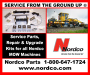 Service from the ground up. www.nordco.com