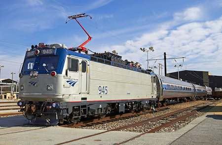 Amtrak AEM-7 locomotive