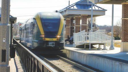 Denton County Transportation Authority's A-train