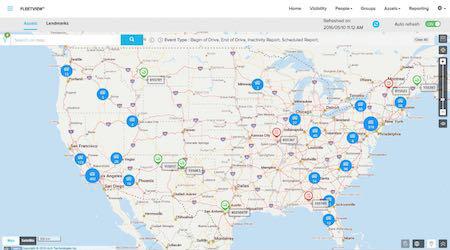 I.D. Systems: FleetView™ fleet management software