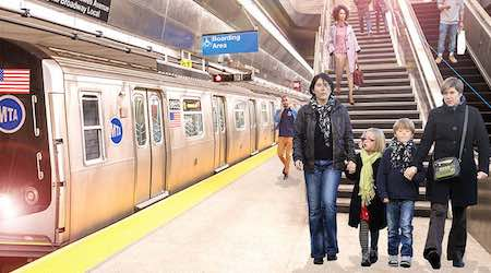 WiFi, Internet service in all NYC subway stations January 9