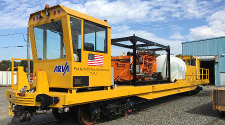 Arva Industries: Track utility vehicle