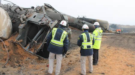 NTSB investigating ethanol train derailment in Iowa