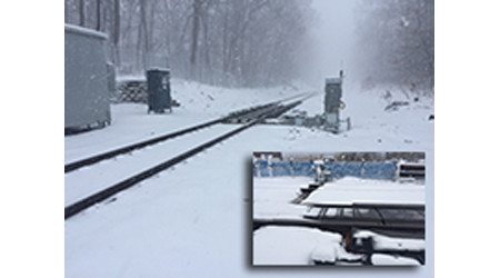 Railway Equipment Co.: Track switch winter protection technology