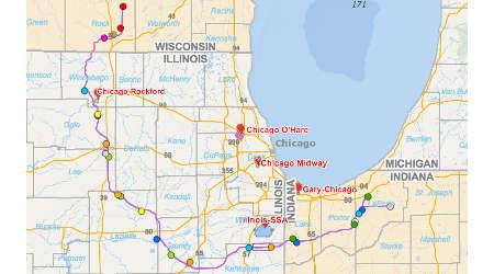 Rail News CSX Publishes Corporate Responsibility Report - Csx railroad map