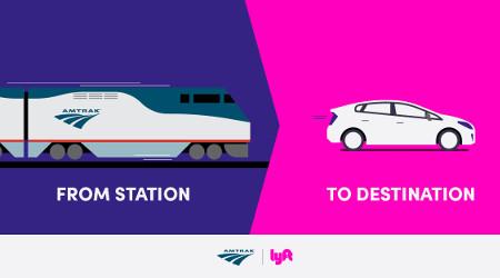Amtrak, Lyft unveil new partnership