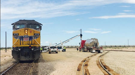 Vista Proppants opens UP-served frac sand terminal in Texas