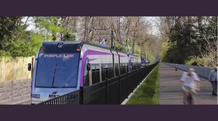 Purple Line to receive $900 million in funds