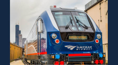Amtrak unveils new locomotive for the Midwest