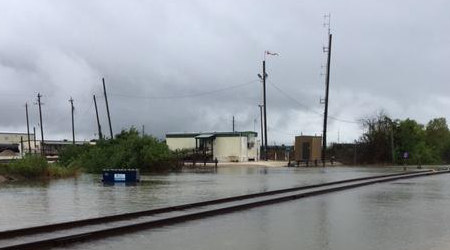 Union Pacific eyes Houston clean-up, inspecting damaged track
