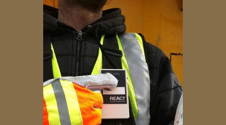 Railserve: REAct safety devices