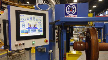 Simmons Machine Tool Corp.: Wheel-set measurement systems