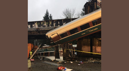 Rail enthusiasts among victims of Washington state train derailment