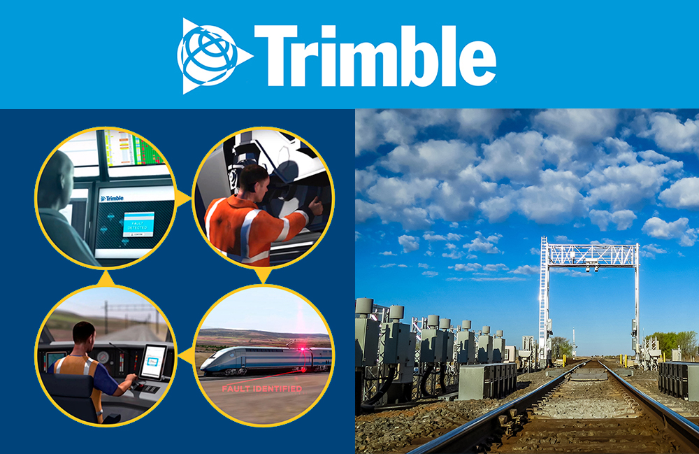Trimble Railway Solutions: End-to-end on-board and wayside monitoring solutions