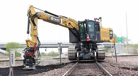Hi-Rail Excavator