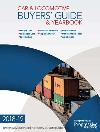 Car and Locomotive Yearbook and Buyers' Guide 2015-16