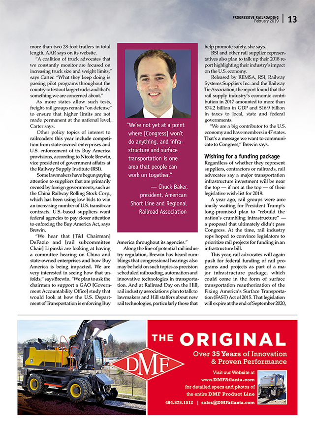 Rail Magazine Articles From Progressive Railroading