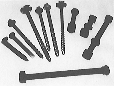 Rail Components Page: Bolts and Nuts