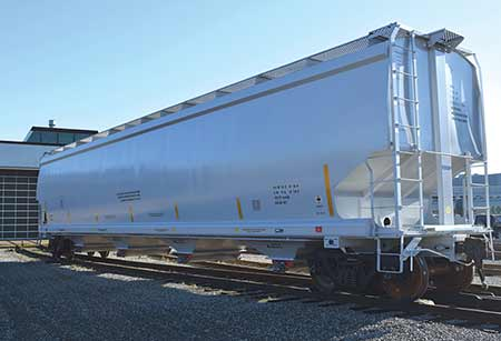 Rail Industry Component National Steel Car Limited 6 400 Cubic