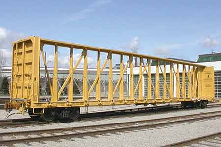 Rail Industry Component National Steel Car Limited Centerbeam Car