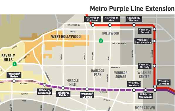 Los Angeles Subway Map New.Rail Insider L A Metro Awards 31 5 Million Signaling Contract To