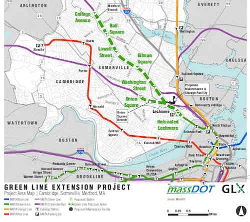 Rail Insider-MBTA reviews Green Line Extension project, seeks public ...