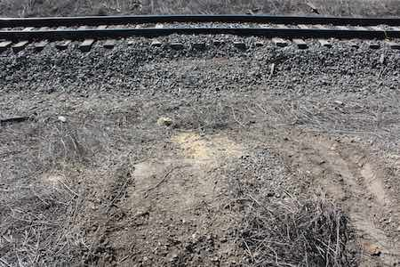 BNSF's tracks in Cimarron
