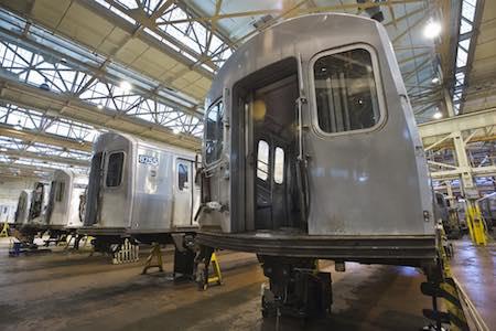 MTA's maintenance yard