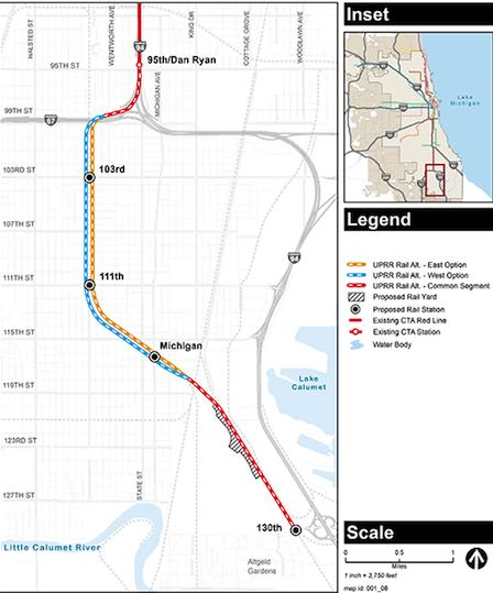 Rail News - CTA releases environmental study for Red Line