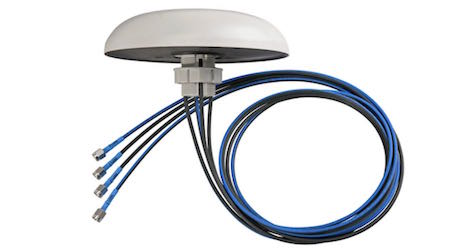 HUBER+SUHNER: Omni-S MIMO 4x4 antenna