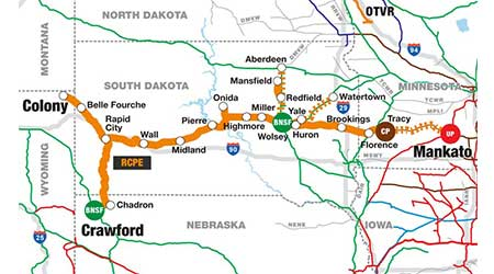 Rail News UPs GroTrain now serving South Dakota regional For