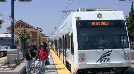 Santa Clara VTA Gears Up For New Light Rail Route Photo