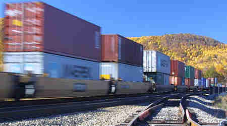 Rail News US railroads posted 64 percent traffic growth in May