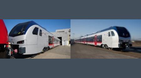 Rail Insider-Stadler unveils FLIRT unit for TEX Rail