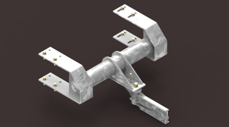 L&W Industries: Heavy-duty conversion bracket