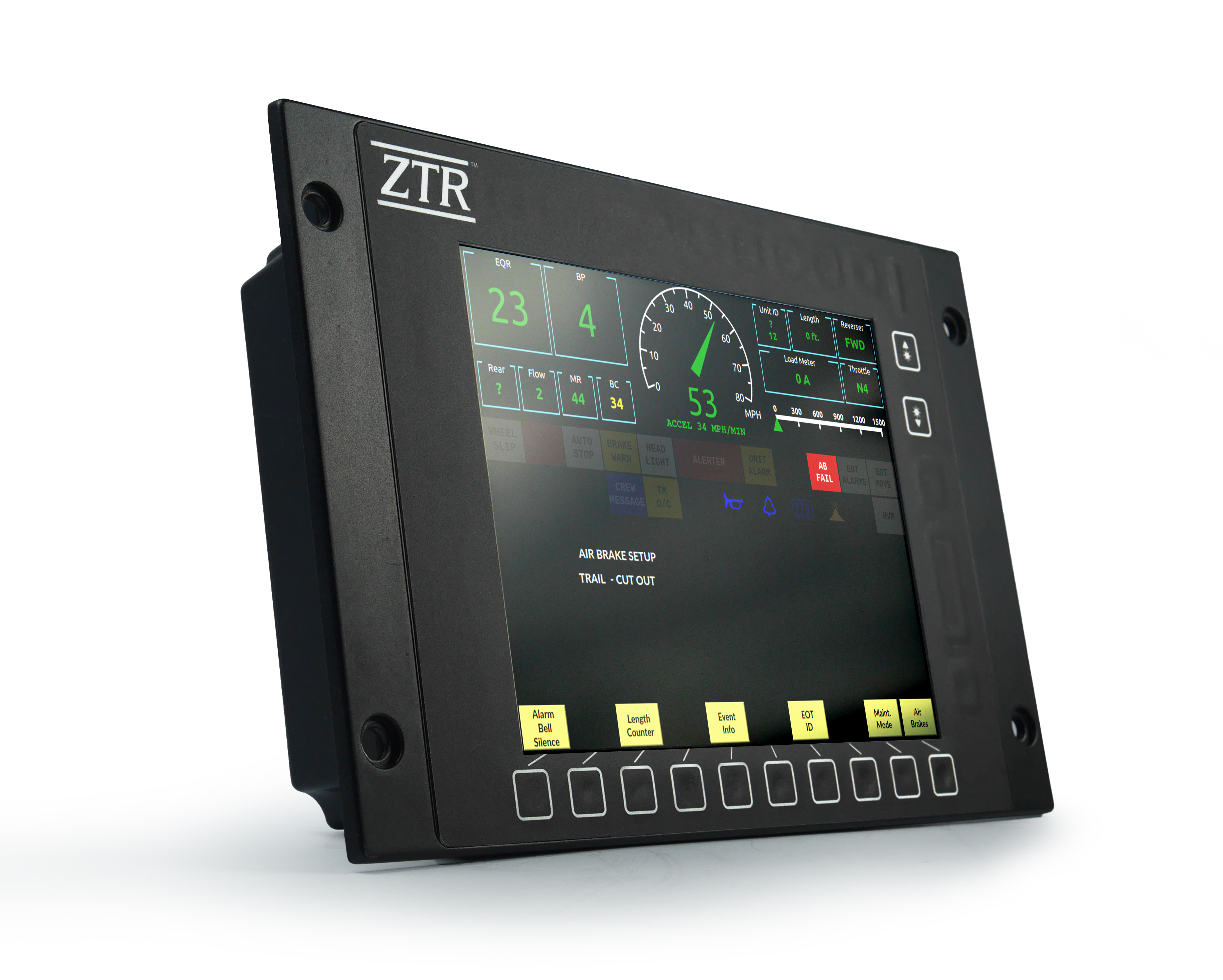 ZTR Control Systems: NEXSYS™ Integrated Locomotive Display