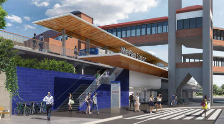 Rail News Metro North Kicks Off White Plains Station