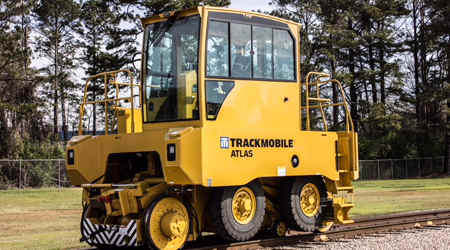 Trackmobile: Atlas mobile rail-car mover