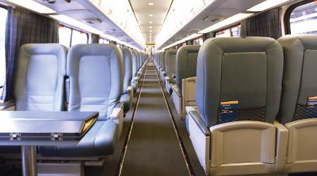 Rail News Amtrak To Rehab Acela Express Train Interiors For Railroad Career Professionals