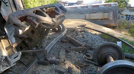 Rail News - Thermite weld failure caused CP derailment