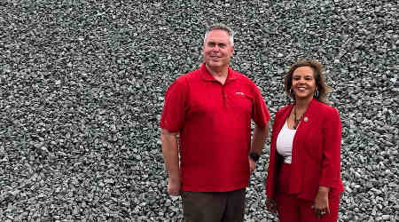 Rail News Ontario Trap Rock Hosts U S Rep Kelly In
