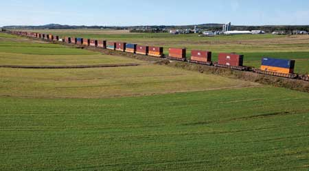 Intermodal Trains