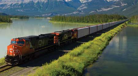 CN's Mainline Trains