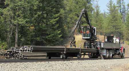 Custom Heavy-Duty Hi-Rail Cart