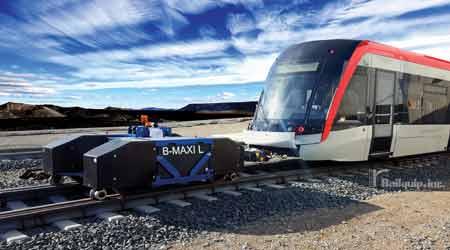 B-Maxi rail-car mover