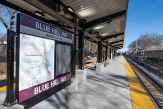 Rail News - MBTA, TransLink ready new commuter-rail stations  For