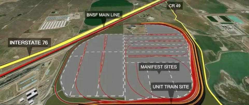 Rail News - BNSF breaks ground on logistics center near